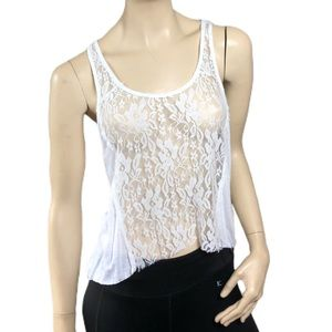 HOLLISTER LACE TANK